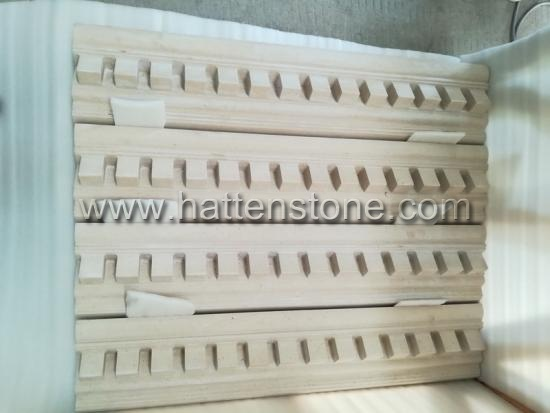 natural buff Marble mouldings